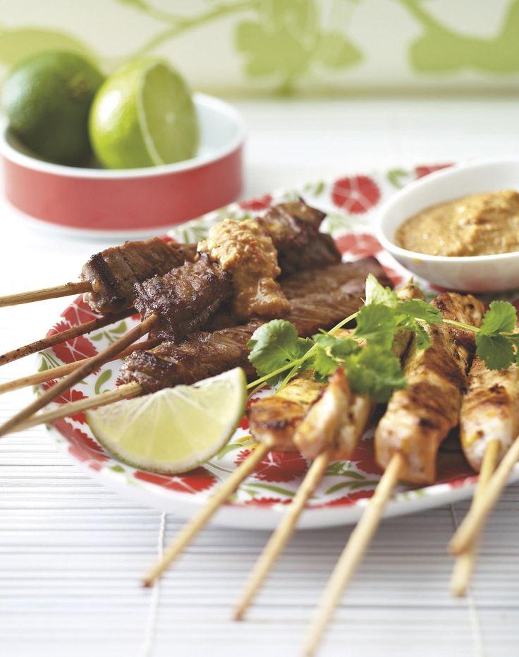 Saté ayam & daging