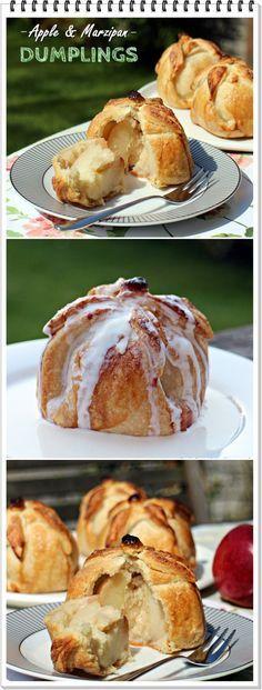 Apple & Marzipan Dumplings - Fab Food 4 All