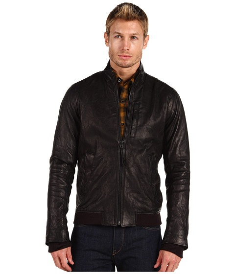Vince Leather Motorcycle Jacket - Jachete - Imbracaminte - Barbati - Magazin Online Imbracaminte