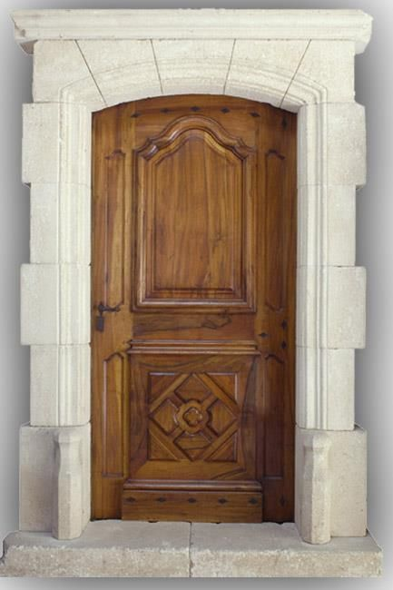 1000 ideas about porte d entr e bois on pinterest porte - Porte d entree double ...