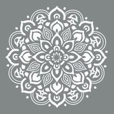 DecoArt Americana Decor 10 in. x 10 in. Mandala Stencil ADS505-B at The Home Depot - Mobile
