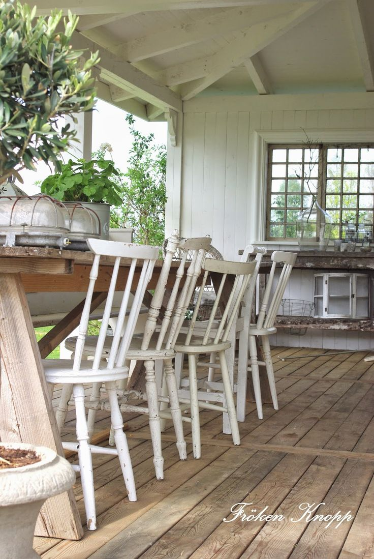 Inspiration for a large modern back porch remodel in san francisco - 25 Cozy Shabby Chic Furniture Ideas For Your Home