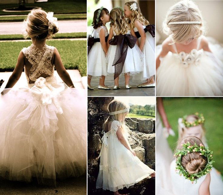 1000  images about Flower girl dresses on Pinterest  Peacock ...