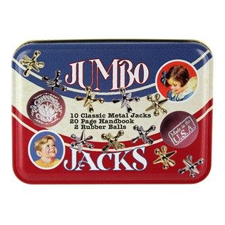 Experience a blast from the past with this retro Jumbo Jacks game!   Shop Hobby Lobby