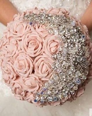 Love that color and the idea of sparkles just a little less