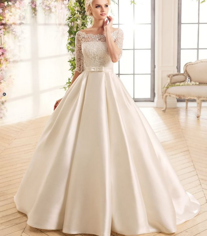 67 best Wedding gowns images on Pinterest | Wedding frocks, Short ...