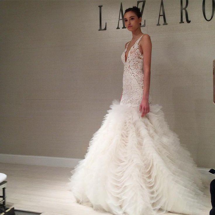 Fabulous New York Bridal Fashion Week Show fall new collection wedding dress designer bridal gown catwalk