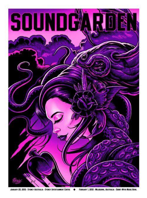 Soundgarden Australian Tour History