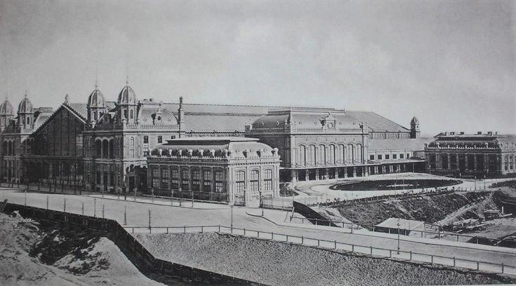 Nyugati pályaudvar - 1960