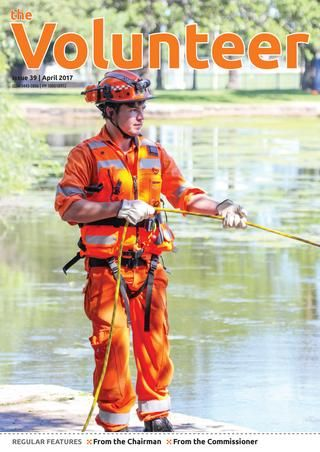 The Volunteer April 2017  The official journal of the NSW State Emergency Service Volunteers Association.