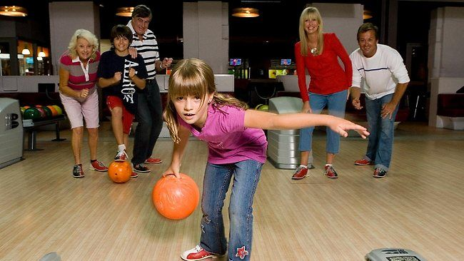 Go #bowling with your #family and spend some quality #time with them.