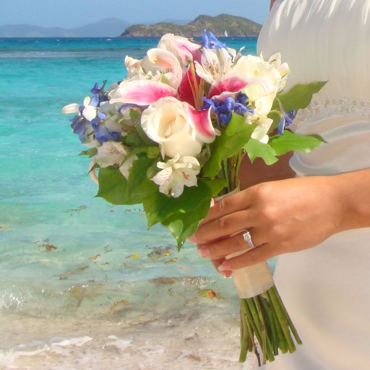 Wedding Flowers Bouquets By The Best Florists In St Floral Arrangements For Your Thomas Destination Package