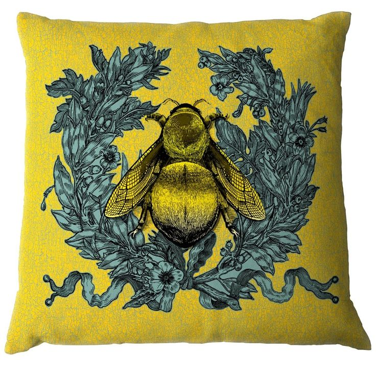 Timorous Beasties Cushions - Empire Bee