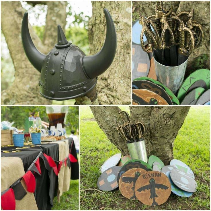 Kienan's How to train your dragon party | CatchMyParty.com
