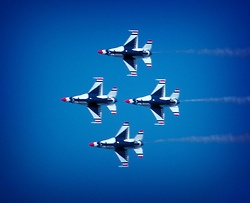 Thunderbirds in the diamond. Loving the soft vignette on this one.