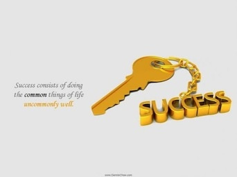 Here is your key to success.