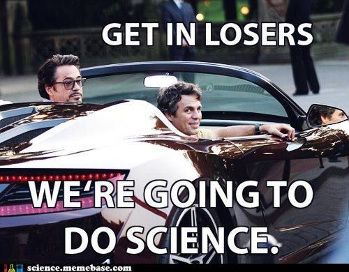 Science all the things.Robert Downey Jr, Mark Ruffalo, Bruce Banner, Meangirls, Girls Quotes, Iron Man, Mean Girls, Ironman, The Avengers