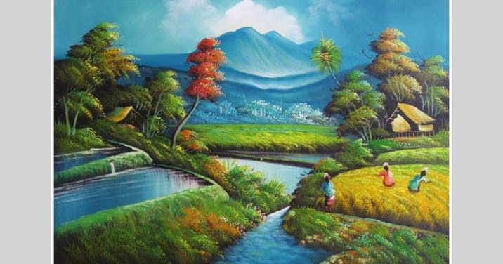 29 Lukisan Pemandangan Alam Termasuk Dalam Seni Rupa Dengan Genre Seni Lukis Pengertian Fungsi Komponen Aliran Ilmu Dasar Dow Di 2020 Pemandangan Seni Rupa Gambar