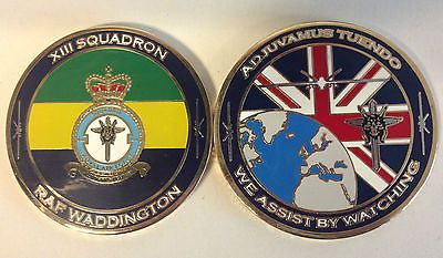 Exclusive: XIII Squadron RAF Challenge Coin £10 (Limited Numbered edition - out of 100 struck)