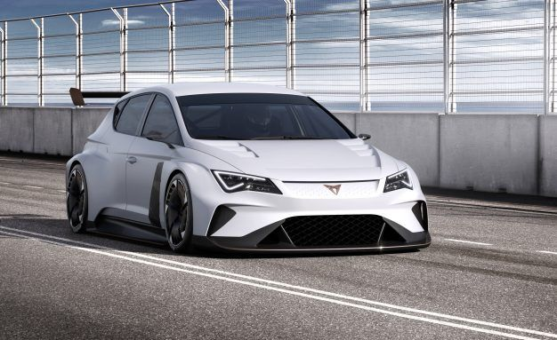 Seat Takes First Spot in Electric Touring-Car Racing with 800-Volt Cupra E-Racer