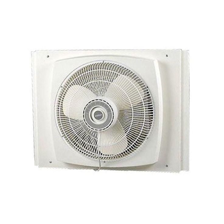 Lasko 16 in. Electrically Reversible Window Fan
