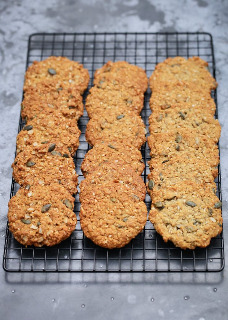 Seed-Studded Anzac Biscuits