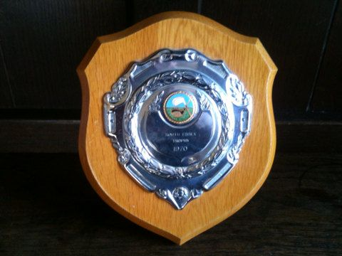 Vintage English Golf 1970s Trophy Plaque South Essex Trophy Purchase in store here http://www.europeanvintageemporium.com/product/vintage-english-golf-1970s-trophy-plaque-south-essex-trophy-2/