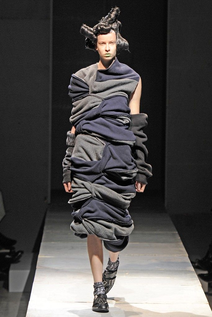Comme des Garcons AW 2014 - looks cozy, I  guess, but might have known it was Comme des Garcons!