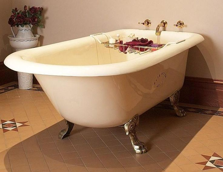 This beautiful Boston 1830mm long bath, for the taller person, not only do Antique Baths Sydney manufacture and restore cast iron baths using vitreous enamel, the vitreous enamel is available in white, ivory and some art deco colours.