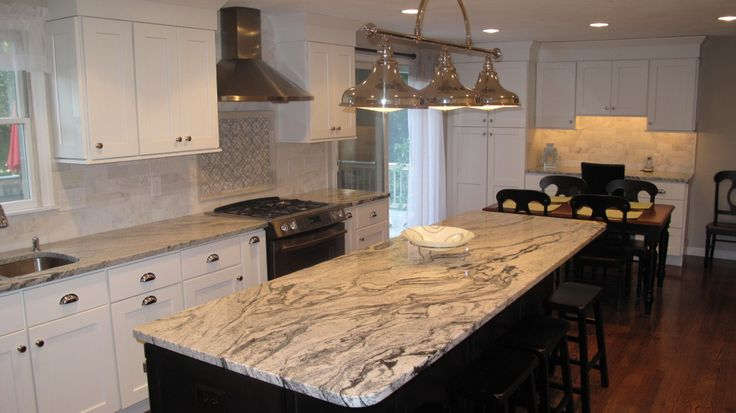 Silver Cloud Granite Countertops Granite Kitchen