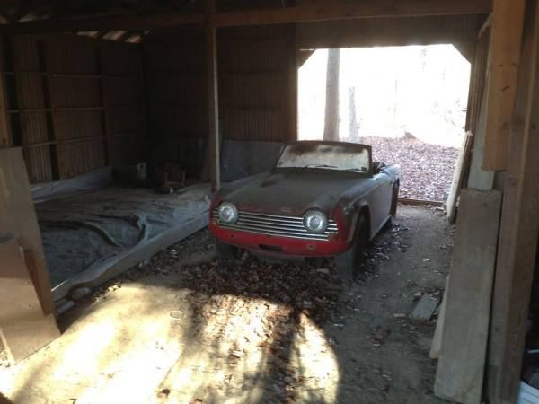 A 1968 Triumph TR250 Has Been Relisted After Almost Year