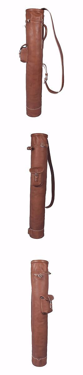 Vintage Golf Clubs and Shafts 83043: Vintage Tan Leather Golf Club Carrying Bag 1 Pocket Retro -> BUY IT NOW ONLY: $119 on eBay!