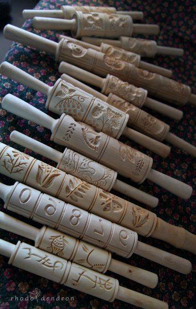 пряничные доски и скалки (с изображениями)   Скалка ...
