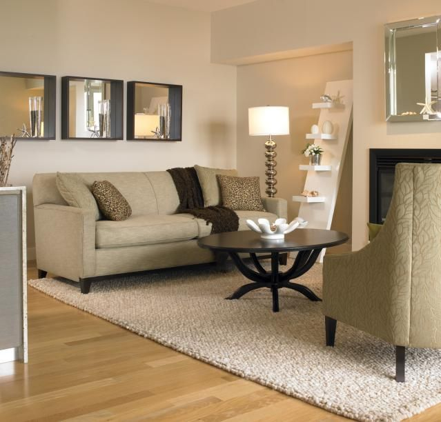 Here Are Some Reasons To Make Your Area Rug From Wall To Wall Carpet.  Neutral Living RoomsLiving Room ... Part 92