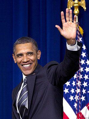 Barack Obama Wins Re-Election 11-6-2012