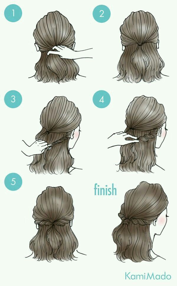Hairstyles for Medium / Long Hair ~ Pin It In The Dreamcatchers Shop