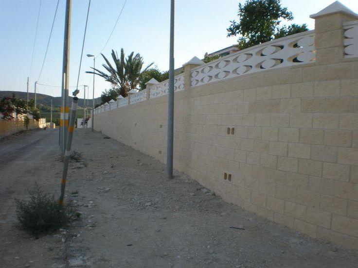 #Acondicionamiento de vallado a causa de la riada ocurrida en 2009. (Vista Final).