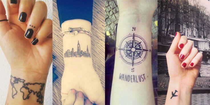 Travel tattoo: 36 tatuaggi per chi ama viaggiare