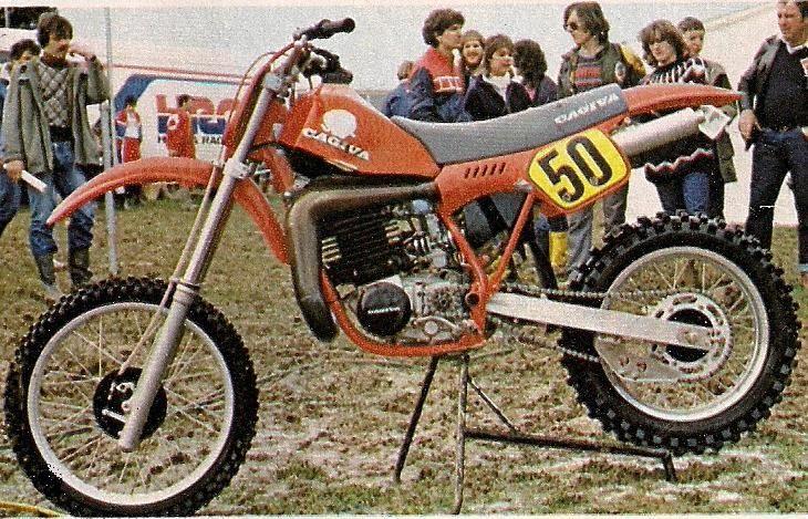 Y Khudiakov Cagiva Wmx 500 Factory 1983 Motos Oficiales