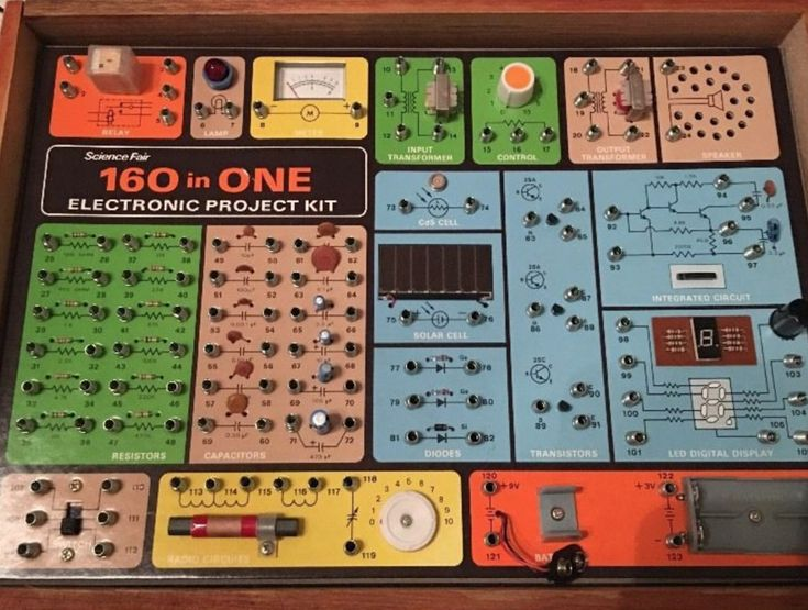 Electronic project kits: hands on with a vintage 160-in-1 – Medium