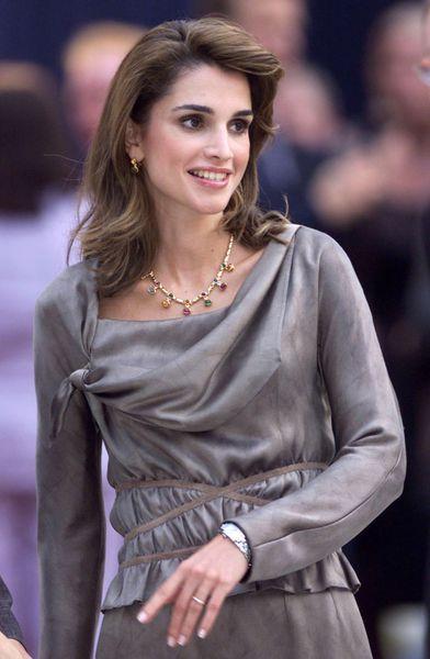 La reine Rania en 2001