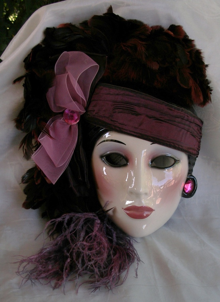 Rare Highly Collectible Clay Art About Face Porcelain Mask
