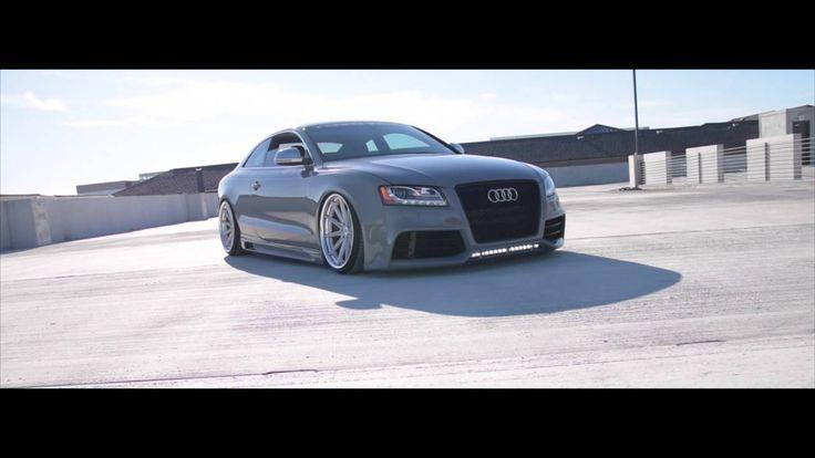 Audi S5 on VOSSEN x WORK Wheels VWS-1 - NARDO GREY