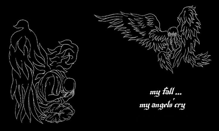 ''My Fall...My Angels' Cry''