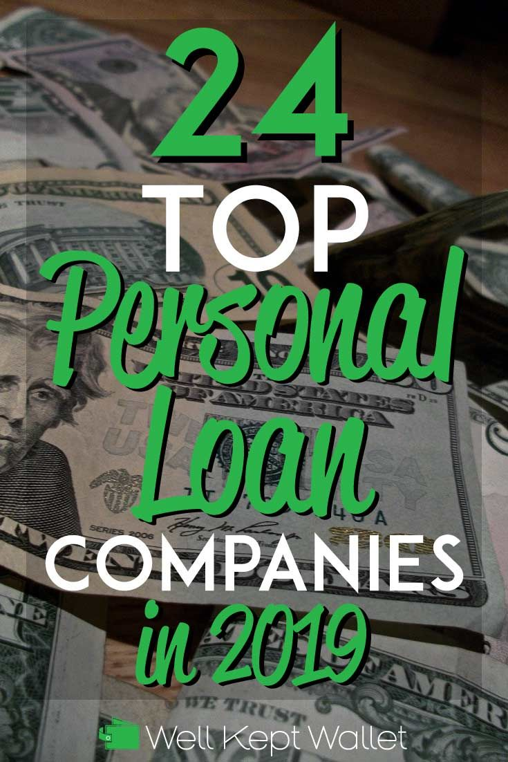 25 Top Personal Loan Companies in 2019 | Best of Well Kept