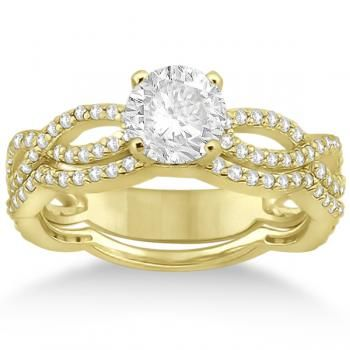 Diamond Rings With Yellow Gold