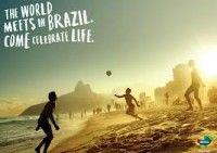Usar artículos de promoción para el mundial de fútbol