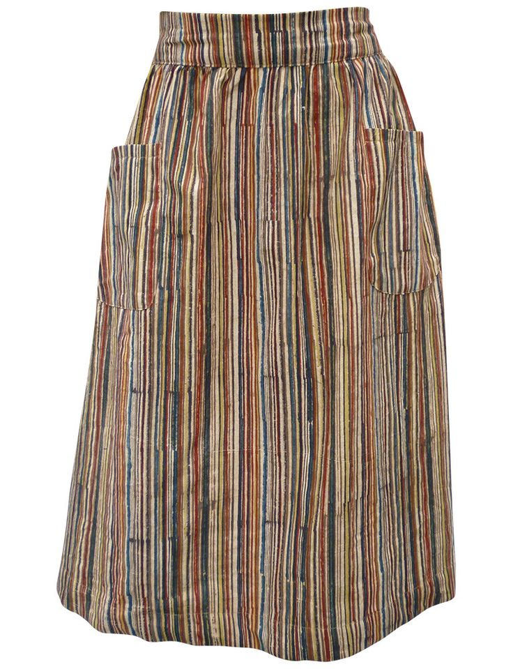 Passion Lilie fair trade and ethical midi skirt, hand block printed with eco dyes. Designed in New Orleans, Louisiana. Made in India.