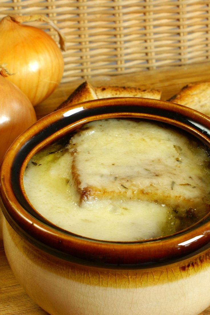 French Onion #Soup #Recipe | My Pinterest Cookbook | Pinterest