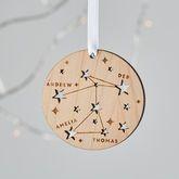 Family Constellation Christmas Tree Decoration